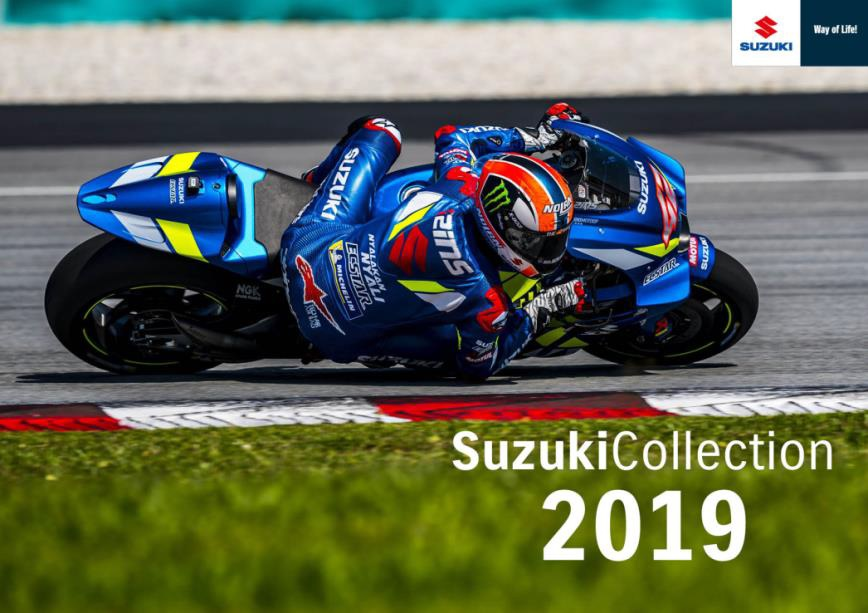 SUZUKI MOTORSPORT COLLECTION 2019
