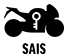 The Suzuki Advanced Immobilizer System (SAIS) uses an electronic identification system in the owner's key to prevent unauthorized people from starting the engine