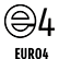 Only models with European specifications comply with the EURO 4 emission regulations.