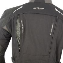 BÜSE HIGHLAND TEXTILE JACKET black / anthracite