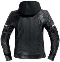 DIFI Detroit motorcycle jacket black brown